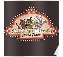 Five Nights at Freddy's - FNAF - Freddy Fazbear's Logo Poster