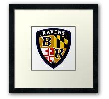 baltimore ravens Framed Print