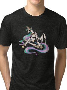 My Little Pony - MLP - FNAF - Princess Celestia Animatronic Tri-blend T-Shirt