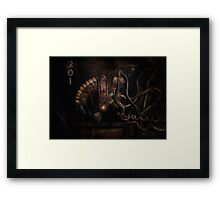 Steampunk - Electrical - Rotary Switch Framed Print