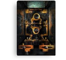 Steampunk - Electrical - The power meter Canvas Print