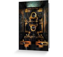 Steampunk - Electrical - The power meter Greeting Card
