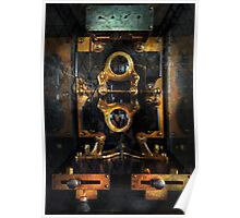 Steampunk - Electrical - The power meter Poster