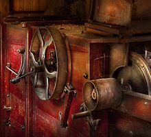 Steampunk - Gear - It used to work by Mike  Savad