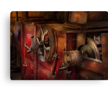 Steampunk - Gear - It used to work Canvas Print
