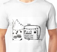 Camping Pandas  Unisex T-Shirt