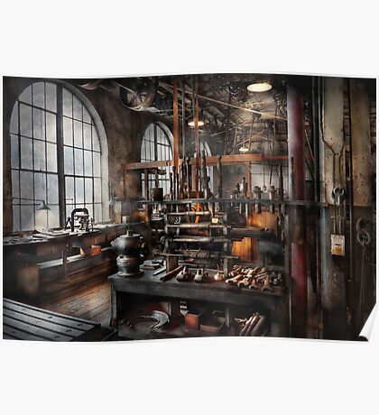 Steampunk - Room - Steampunk Studio Poster