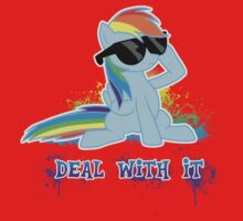 My Little Pony - MLP - Raindow Dash - Deal With It One Piece - Long Sleeve