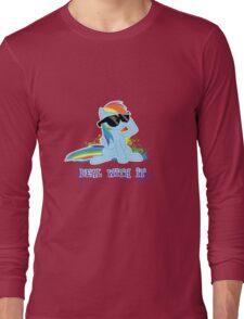 My Little Pony - MLP - Raindow Dash - Deal With It Long Sleeve T-Shirt