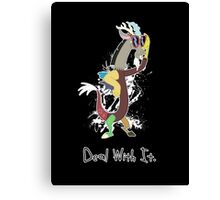 My Little Pony - MLP - Discord - Deal With It Canvas Print