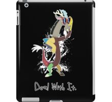 My Little Pony - MLP - Discord - Deal With It iPad Case/Skin