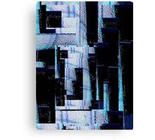 abstract digital photo manipulation -(250711)- ms paint Canvas Print