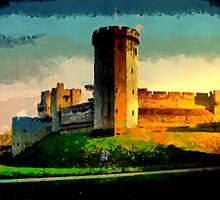 Beautiful Britain - Warwick Castle (2) by Dennis Melling