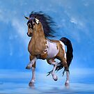 Buckskin Paint Stallion by LoneAngel
