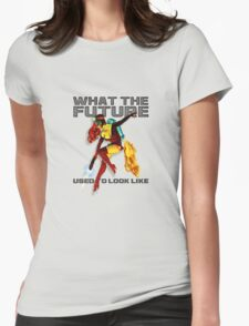 what the future used to look like Womens Fitted T-Shirt