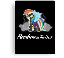 My Little Pony - MLP - Rainbow Dash - Shadowbolt - Rainbow in the Dark Canvas Print