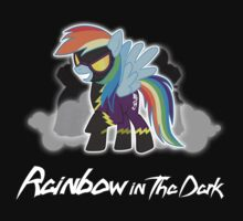 My Little Pony - MLP - Rainbow Dash - Shadowbolt - Rainbow in the Dark Kids Tee