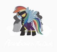 My Little Pony - MLP - Rainbow Dash - Shadowbolt - Rainbow in the Dark Kids Tee