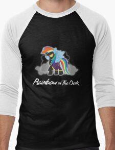 My Little Pony - MLP - Rainbow Dash - Shadowbolt - Rainbow in the Dark Men's Baseball ¾ T-Shirt