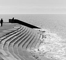 Steps on Blackpool prom by chrisallen236