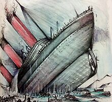 Titanic ( From New York Holiday Journal  1998 ) by John Dicandia  ( JinnDoW )