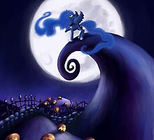 My Little Pony - MLP - Nightmare Before Christmas - Princess Luna's Lament by Kaiserin