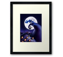 My Little Pony - MLP - Nightmare Before Christmas - Princess Luna's Lament Framed Print
