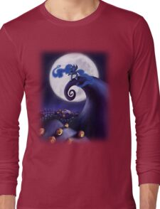 My Little Pony - MLP - Nightmare Before Christmas - Princess Luna's Lament Long Sleeve T-Shirt