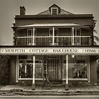 Morpeth Cottage Bakehouse in Sepia by PollyBrown