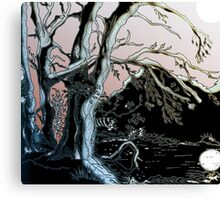 Water of Leith, Currie Edinburgh Riverside 3 Canvas Print