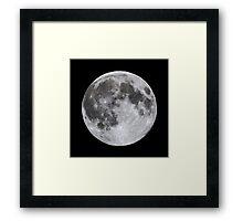 Perigee Moon in Hawaii Framed Print