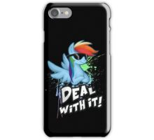 My Little Pony - MLP - Rainbow Dash - Deal With It iPhone Case/Skin