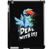 My Little Pony - MLP - Rainbow Dash - Deal With It iPad Case/Skin