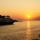 Sunset on a Greek Island by Braedene