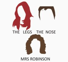 The Legs, The Nose and Mrs Robinson Kids Clothes