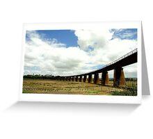 Tailem Bend Rail-Line Greeting Card