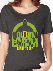 HOLLOW EARTH Women's Relaxed Fit T-Shirt