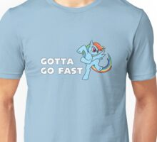My Little Pony - MLP - Rainbow Dash - Gotta Go Fast Unisex T-Shirt