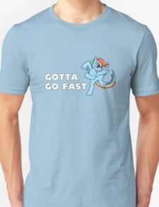 My Little Pony - MLP - Rainbow Dash - Gotta Go Fast T-Shirt