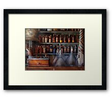 Pharmacy - Master of many trades  Framed Print