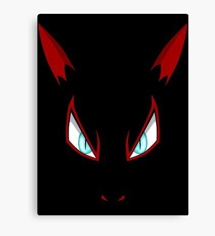 Pokemon - Zoroark Face Canvas Print