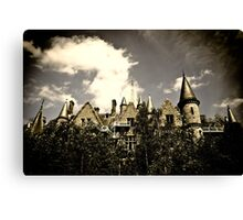 Un Chateau Belge Canvas Print