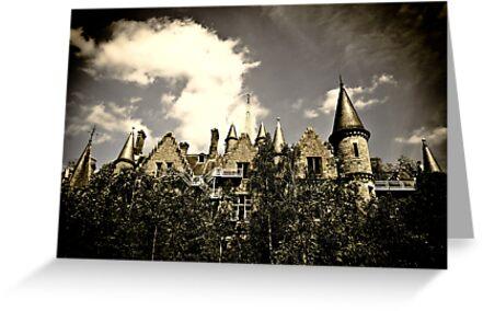 Un Chateau Belge by Richard Pitman