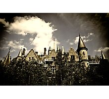 Un Chateau Belge Photographic Print