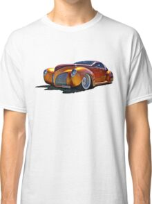 Lincoln Zephyr hot rod in gold Classic T-Shirt