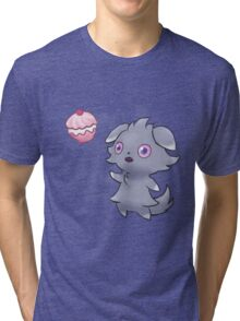 Pokemon - Espurr Poffin Tri-blend T-Shirt