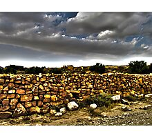 The Stone Wall Photographic Print