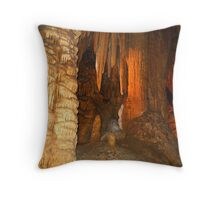 Cave Splendor Throw Pillow