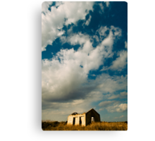 abandoned under the sky Canvas Print