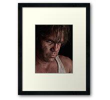 Hard Knox Framed Print